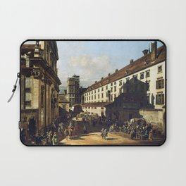 Bernardo Bellotto, Canaletto Vienna, Dominican Church Laptop Sleeve