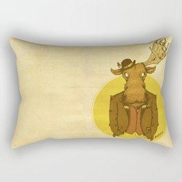 {Bosque Animal} Alce Rectangular Pillow