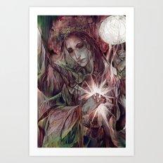 Azura Art Print