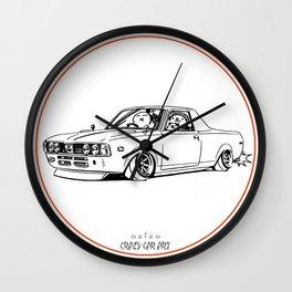 Crazy Car Art 0212 Wall Clock