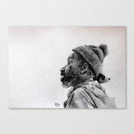 I am rich Canvas Print