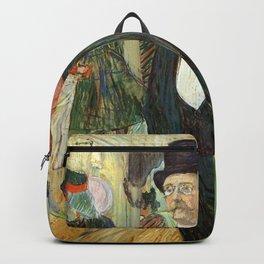 """Henri de Toulouse-Lautrec """"Monsieur Henri Fourcade au Bal de l'Opéra"""" Backpack"""