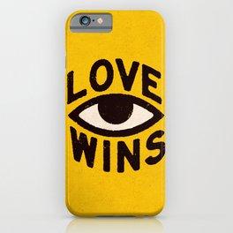 Love Wins iPhone Case