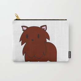 The Red Pomeranian Carry-All Pouch