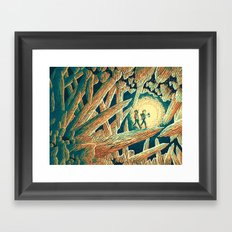 The Journey Below Framed Art Print