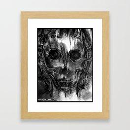 The Devil You Know Framed Art Print
