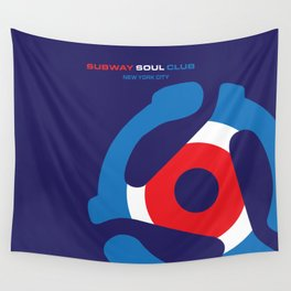 Subway Soul Adapter Wall Tapestry