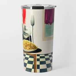 Come Home,There's Pasta Travel Mug