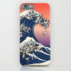 The Great Wave Of  French Bulldog iPhone 6 Slim Case