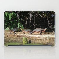 turtles iPad Cases featuring Turtles by Stu Willard