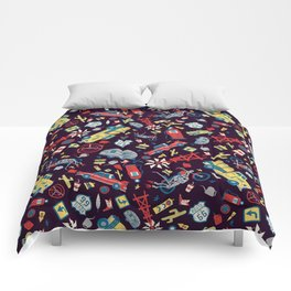 I Heart Route 66 Comforters