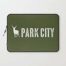 Utah: Park City Deer Laptop Sleeve
