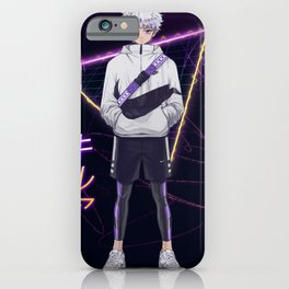 Killua x Sneaker Fiction illustration iPhone Case