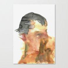 His Profile Canvas Print