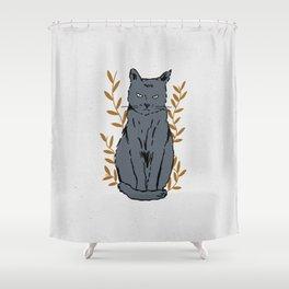 Fiercely Cute Shower Curtain