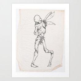 Sketch #12 Art Print