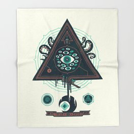 All Seeing Throw Blanket