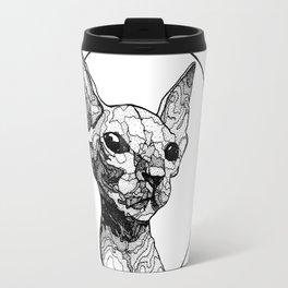Inside out sphynx cat Travel Mug