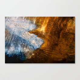 Abstract Acrylic Blizzard Canvas Print