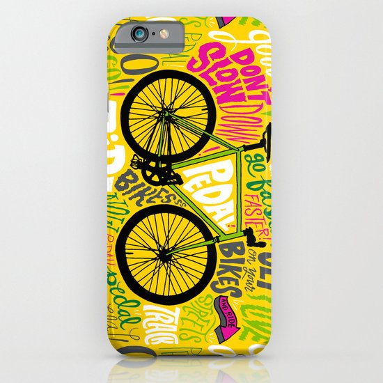 RIDE YOUR BIKES iPhone & iPod Case