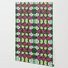 Fantasy Garden Pattern Wallpaper