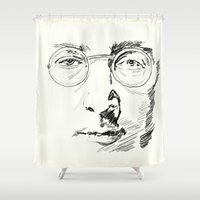 imagine Shower Curtains featuring Imagine by Paul Kimble