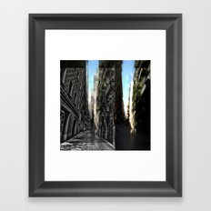 sometimes I just wander Framed Art Print