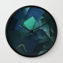 Cubism Abstract 202 Wall Clock