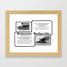 Delaunay Belleville  Framed Art Print