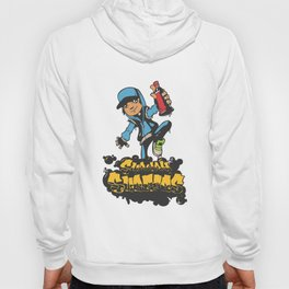 Lab No. 4 - Subway Surfers Game will take your craziness Inspirational Quotes Poster Hoody