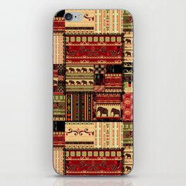 African patchwork. iPhone Skin