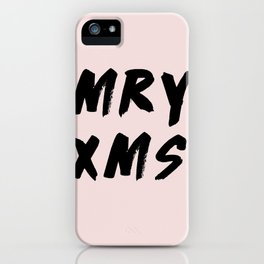 Merry Christmas 2017 iPhone Case