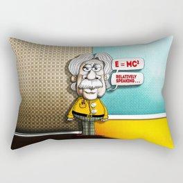 Relatively Einstein Rectangular Pillow