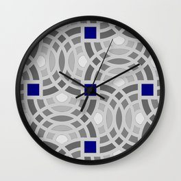 Op Art 118 Wall Clock