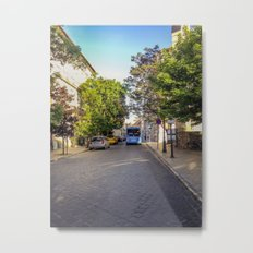 BUS IN BUDAPEST Metal Print
