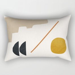abstract minimal 6 Rectangular Pillow