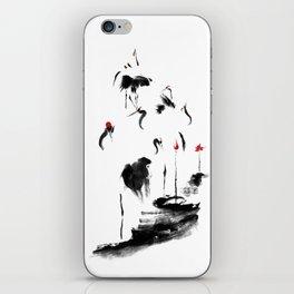 7 Cranes iPhone Skin