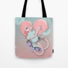 Axolotl girl  Tote Bag