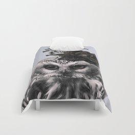 Portrait of Owl Comforters