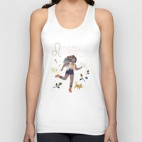 leo Tank Tops featuring Leo by LordofMasks