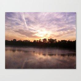 Sunrise at Shiloh Canvas Print