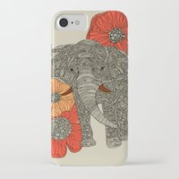 ink iPhone & iPod Cases featuring The Elephant by Valentina Harper