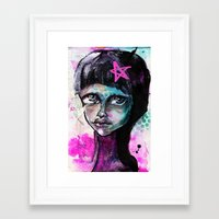sister Framed Art Prints featuring SIsTeR by SannArt