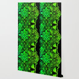 Green Mandela Wallpaper