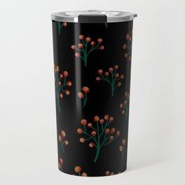 Arrow wood print Travel Mug
