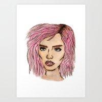 Charlotte Free Art Print