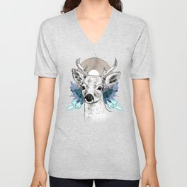 The Deer (Spirit Animal) Unisex V-Neck
