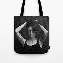 Antonina in black and white Tote Bag
