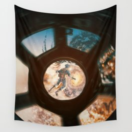 The Eye of The Galaxy by GEN Z Wall Tapestry