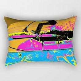 High-Flyin' Scooter Champ Rectangular Pillow